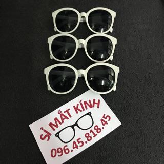 [Mã FAGOGO giảm 12% đơn 99K] ❌ CÓ SẴN ❌ Mắt kính tròn kính v màu trắng