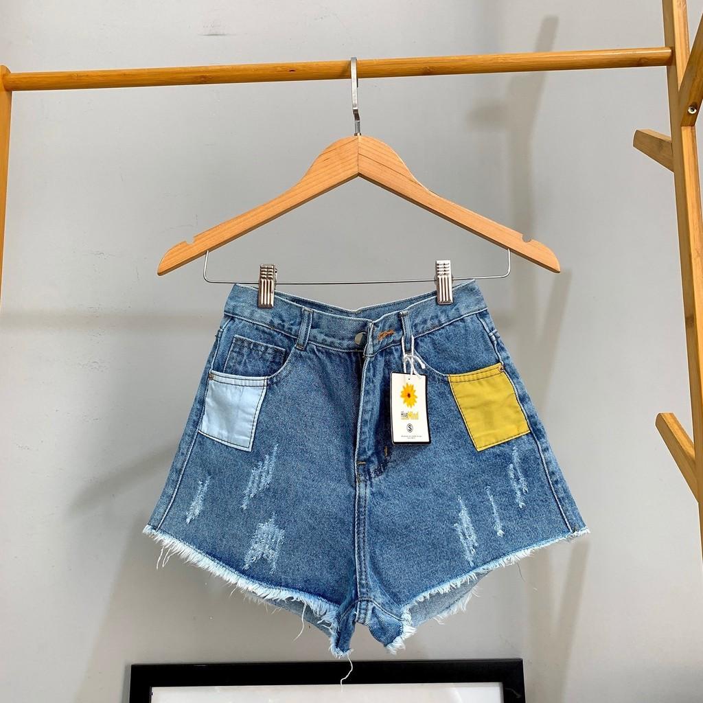 [Mã WASEPRN hoàn 20% xu đơn 99k] Quần short jean nữ lưng cao King168 , quần short nữ cao cấp QS15