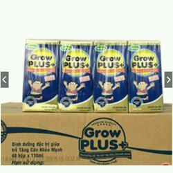 Sữa Bột Pha Sẵn Grow Plus (Xanh) Tăng Cân 180ml (thùng 48 hộp)