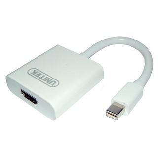 Cáp Mini Displayport -> HDMI L Unitek Y6325 cáp chuyển từ máy tính, laptop Mini Displayport sang màn hình HDMI