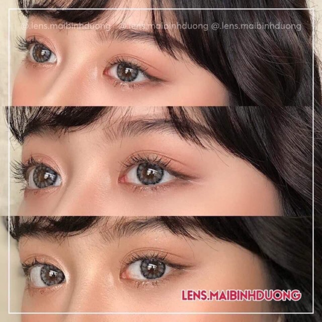 💎 Lens Sweety J Gray - Xám mini kiểu Hàn 💖💖