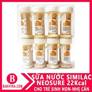 Thùng 48 ống sữa nước Similac Neosure IQ 22 kcal 59ml 22kcal thumbnail