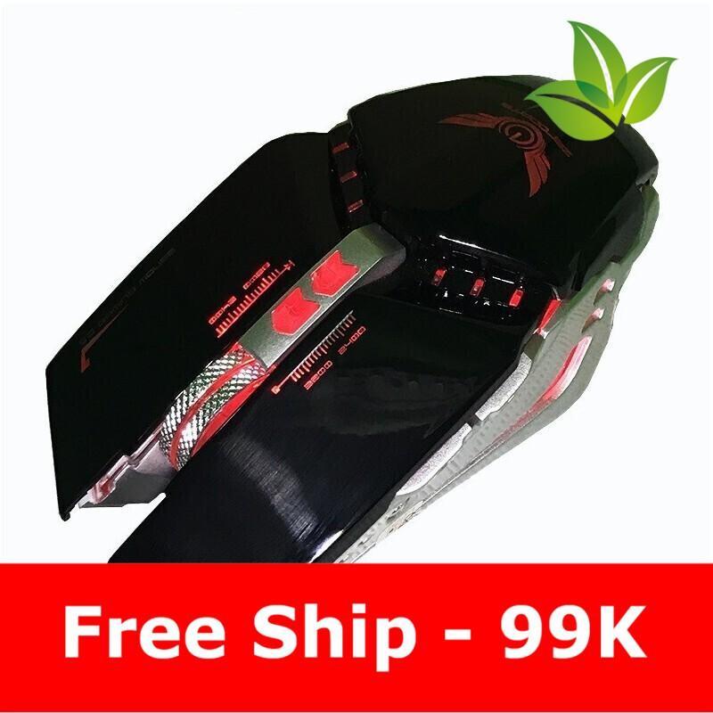 [Flash sale] SẢN PHẨM CHUỘT GAME ZERODATE G18 LED Giá chỉ 250.000₫