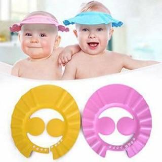 Mũ đội đầu chắn nước có vành che tai cho bé (shop lananh8885) thumbnail