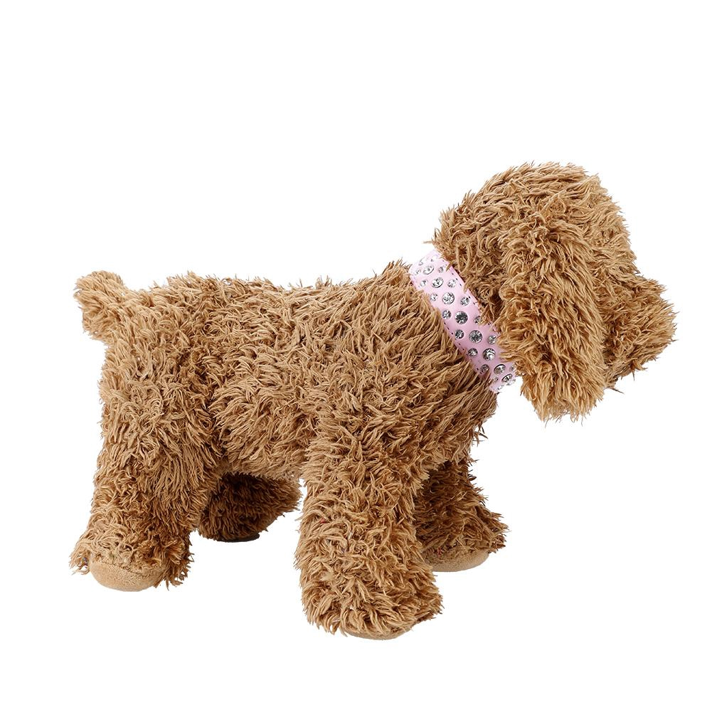 Glitter Collar Rhinestone Pets Adjustable Bling Puppy Decor Dogs