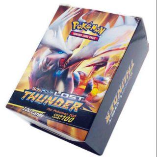 Bộ sưu tập thẻ bài Pokemon Sun&Moon Lost Thunder