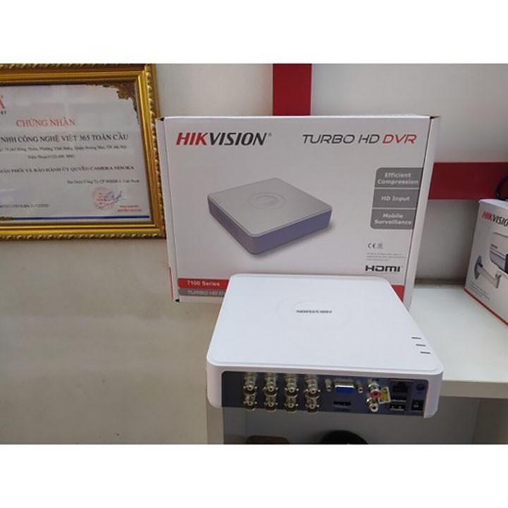Đầu Ghi hình camera HIKVISION 7108HGHI BẢO HÀNH 2 NĂM - TẶNG KÈM Ổ CỨNG 250GB