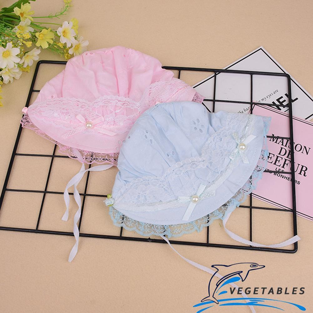 ☛☏❤Baby Girl Lace Bonnet