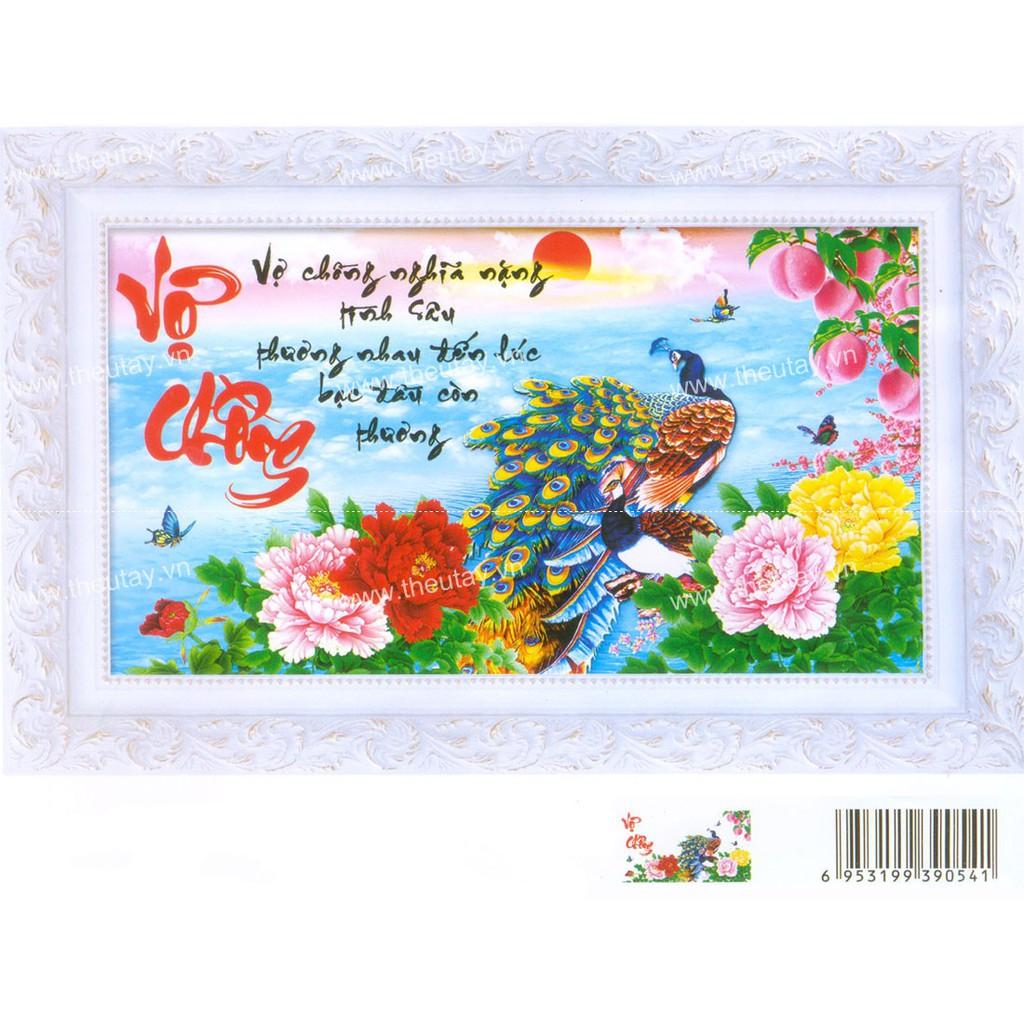 Tranh thêu chữ thập chưa thêu + kết chỉ hạt đá pha lê và hoa nhựa, bướm nhựa Vợ Chồng Nghĩa Nặng Tìn - 3191506 , 1224546756 , 322_1224546756 , 144000 , Tranh-theu-chu-thap-chua-theu-ket-chi-hat-da-pha-le-va-hoa-nhua-buom-nhua-Vo-Chong-Nghia-Nang-Tin-322_1224546756 , shopee.vn , Tranh thêu chữ thập chưa thêu + kết chỉ hạt đá pha lê và hoa nhựa, bướm nhựa Vợ