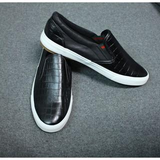 Giày Da Lười Nam Màu Đen Giá Rẻ