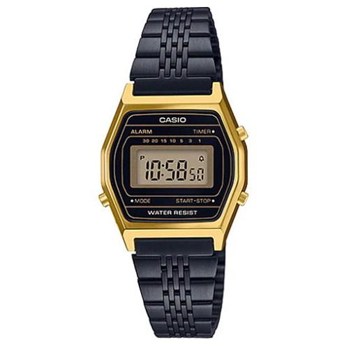 Đồng hồ Nữ Casio điện tử dây kim loại thời trang LA690 - Chính hãng Anh Khuê