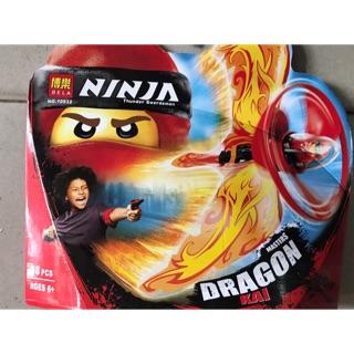 Con quay ninja có cánh – đỏ