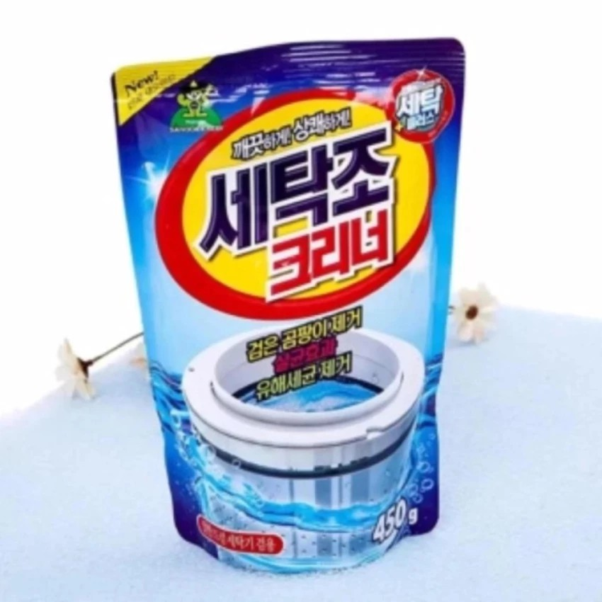 Bột tẩy lồng máy giặt Hàn Quốc 450g cao cấp - 3317247 , 626209034 , 322_626209034 , 40000 , Bot-tay-long-may-giat-Han-Quoc-450g-cao-cap-322_626209034 , shopee.vn , Bột tẩy lồng máy giặt Hàn Quốc 450g cao cấp