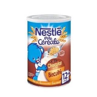 Bột pha sữa Nestle 12M+ vị chocolate Biscuite 400g thumbnail