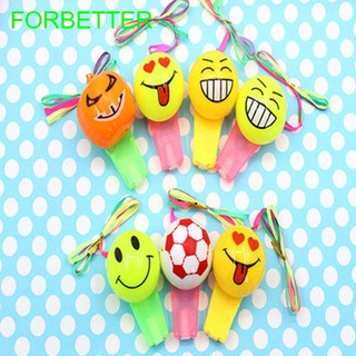 Gift Glowing Children Kid Musical Instruments Toy Emoji Whistle