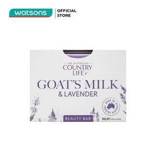Xà Bông Country Life Goats Milk Lavender 100g