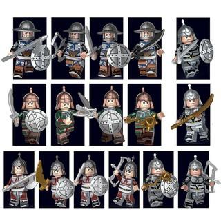 Decool 300A Minifigures Lính TAM QUỐC vũ khí ngẫu nhiên tuyệt đẹp
