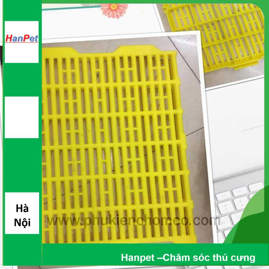 SP606 - Tấm lót sàn (hanpet 4711435) tấm nhựa lót sàn chó mèo