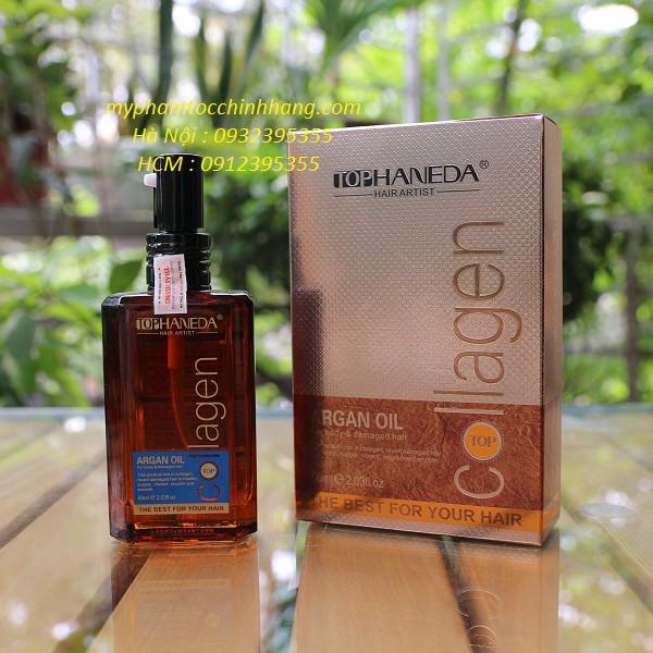 Dầu dưỡng tóc Haneda collagen chính hãng công ty Thái Hương 60ml - 2529305 , 236716012 , 322_236716012 , 180000 , Dau-duong-toc-Haneda-collagen-chinh-hang-cong-ty-Thai-Huong-60ml-322_236716012 , shopee.vn , Dầu dưỡng tóc Haneda collagen chính hãng công ty Thái Hương 60ml