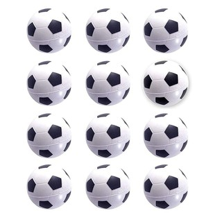Mini Sports Balls for Kids Party Favor Toy, Football(12 Pack)