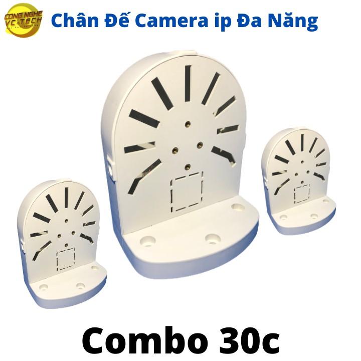 Combo 30 Chân Đế Camera ip Đa Năng- Lắp được Camera Ezviz,imou,Kbone.....