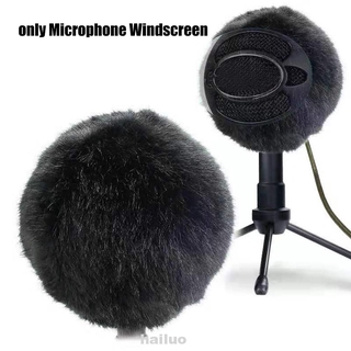 Microphone Windscreen Home Protective Elastic Filter Noise Reduction Stage Artificial Fur For Yeti PRO