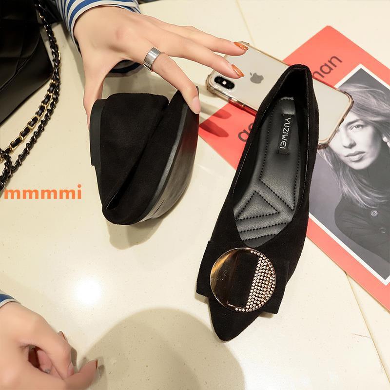 Phiên bản Hàn Quốc của giày thời trang mũi nhọn nữ 2019 xuân