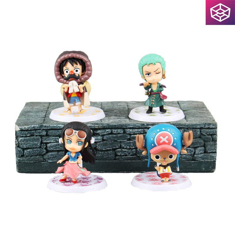 Mô hình tĩnh figure One Piece Mini Figure Set 4 - 2940837 , 286118856 , 322_286118856 , 309000 , Mo-hinh-tinh-figure-One-Piece-Mini-Figure-Set-4-322_286118856 , shopee.vn , Mô hình tĩnh figure One Piece Mini Figure Set 4