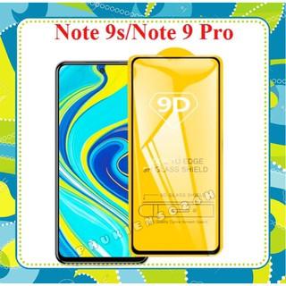 Kính Cường Lực Xiaomi Redmi Note 9 Pro 5g / Note 9s / Redmi Note 9 pro Full Màn 9D thế hệ mới