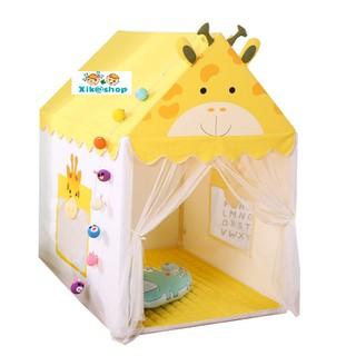 Màu Vàng - Mẫu mới - Lều trẻ em - Lâu đài nhỏ của bé XIKATE05
