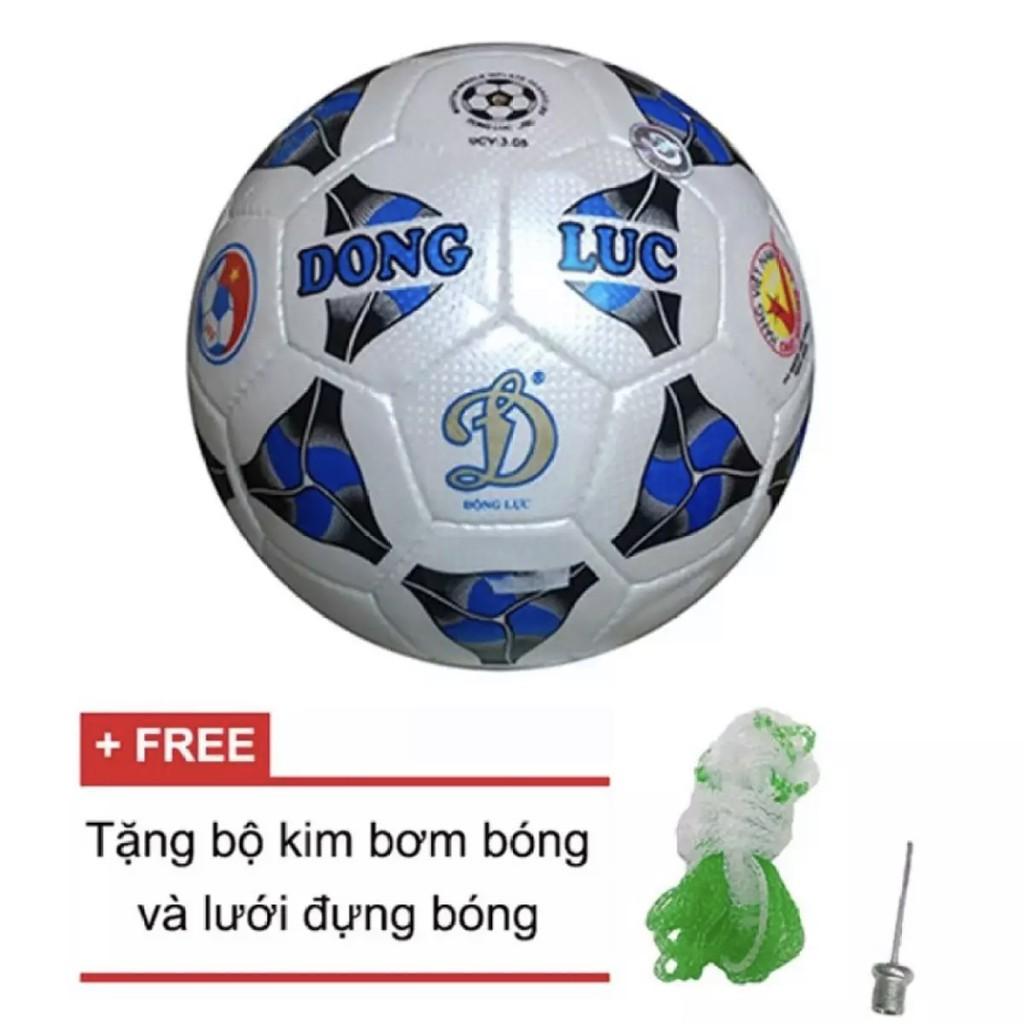 (CHÍNH HÃNG) Quả bóng đá Động Lực Cơ bắp UCV 3.05 số 4 (tặng kim bơm và lưới đựng bóng).