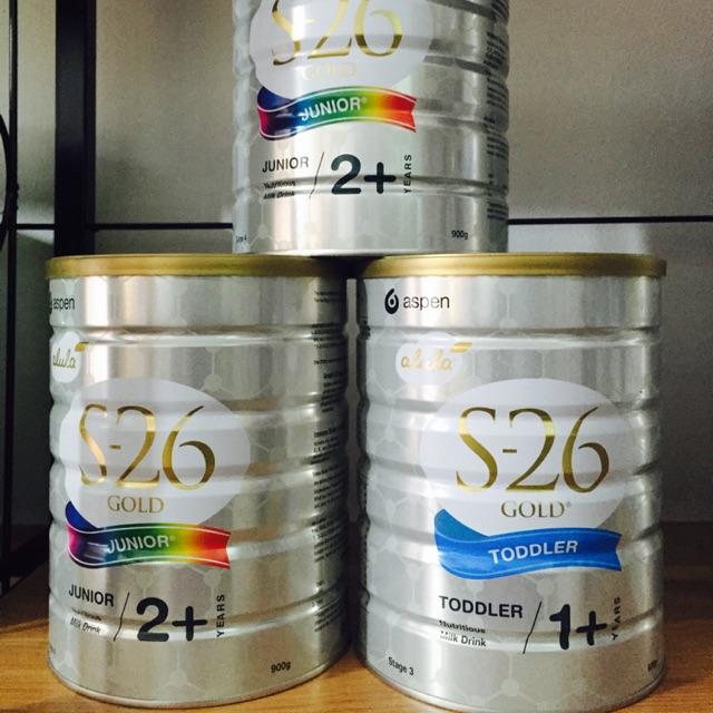 Sữa S26 úc số 1+; 2+ date 9/2020 giá tốt