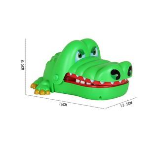[Mã TOYSEP giảm 10% tối đa 15K đơn bất kỳ] [ HOT DEAL ] Đồ chơi khám răng cá sấu cắn tay loại to cho bé