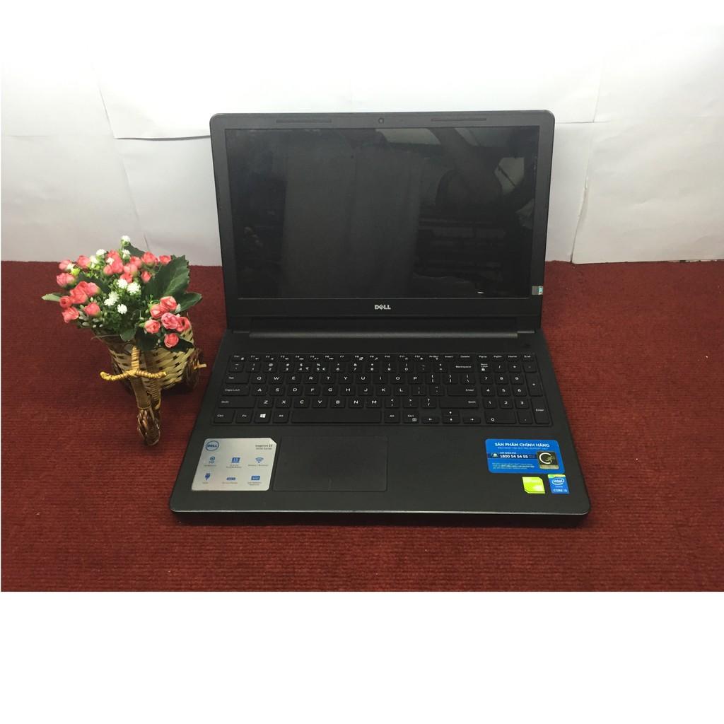 Laptop Dell inspiron N3558 core i5 5200U ram 4G HDD 500G vga rời 2G màn 15,6 inch