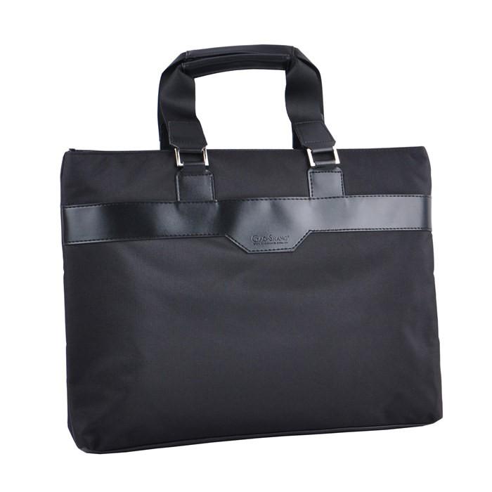 ธุรกิจกระเป๋าไฟล์แบบพกพาซิปผ้าใบที่จะใช้สำนักงานความจุขนาดใหญ่ถุงไฟล์หญิงชายและห