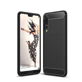 Ốp lưng chống sốc cho Huawei P20 Pro hiệu Likgus (chống va đập, thiết kế vân kim loại) – Hàng chính hãng