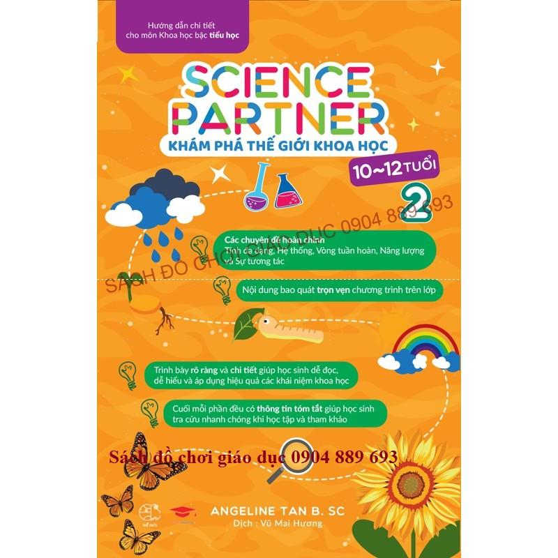 Sách - Science Partner - Khám Phá Thế Giới Khoa Học (Tập 2)
