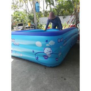 GÍA SỐC bể bơi 2m1 to rộng dày đẹp cho bé yêu