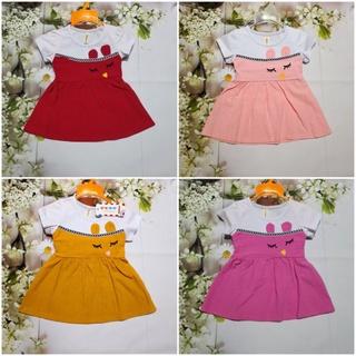Váy Đầm cotton đũi hè giả yếm hàng Quảng Châu cao cấp cho bé gái 1-3 tuổi thumbnail