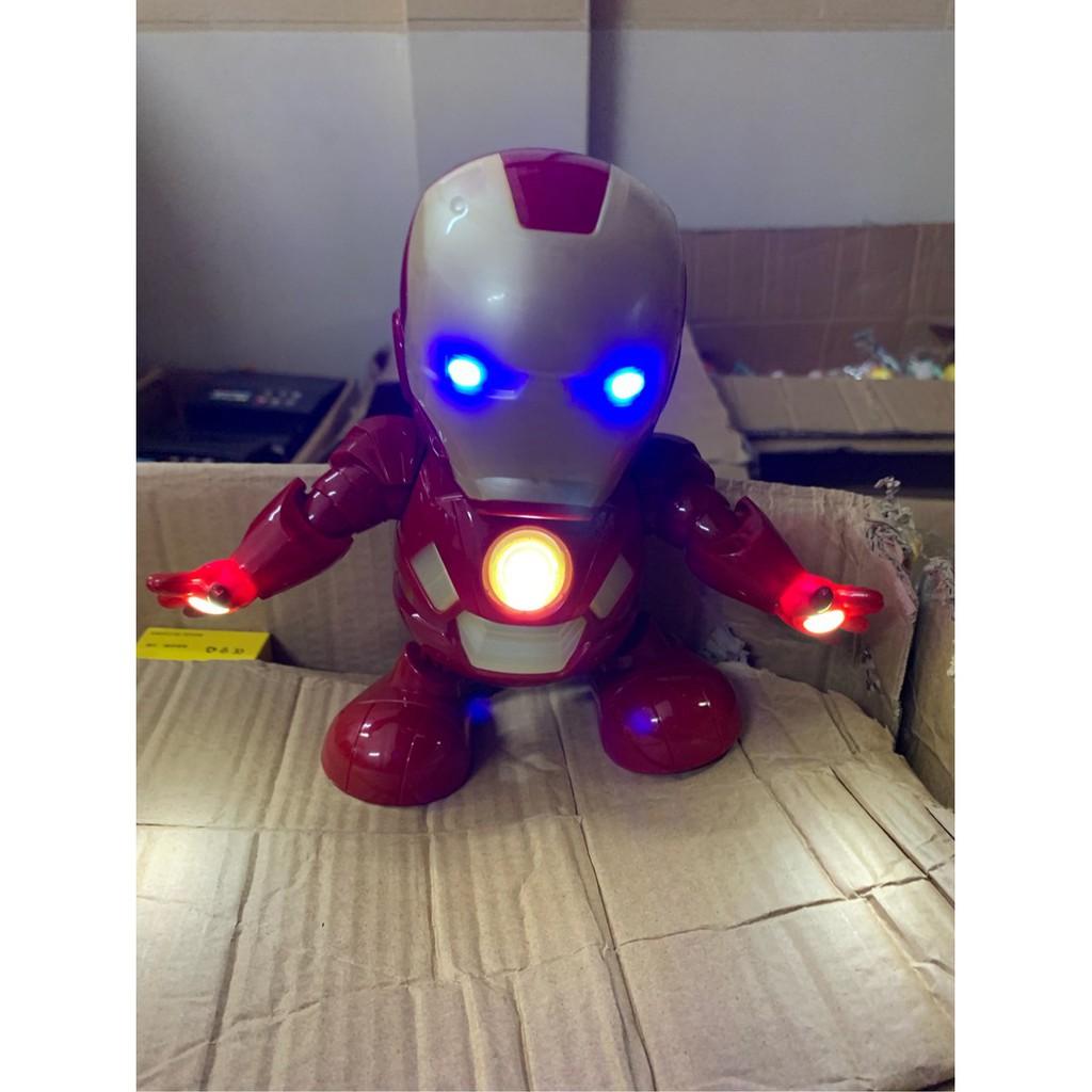 AVENGERS ROBOT IRON MAN SIÊU ANH HÙNG NHẢY LẮC THEO NHẠC VUI NHỘN