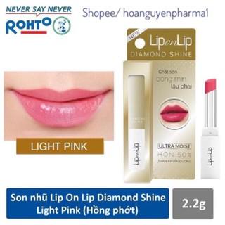 Son nhũ Lip on Lip Diamond Shine - Hồng Phớt thumbnail