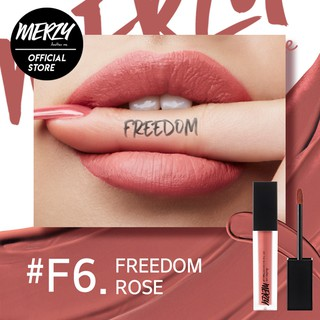 Son tint lì Merzy Off The Record Fitting Lip màu hồng nude F6 - Freedom Rose 5,5g-1