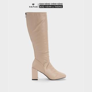 Giày Bốt Nữ Boot Đùi Da Nhăn 9Phân HAPAS - BOT939