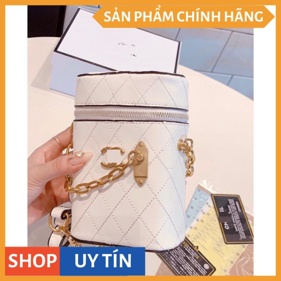 Túi lồng đèn phối xích sang trọng túi cặp lồng tròn dáng trụ đeo chéo cầm tay hottrend mẫu mới nhất LDEN02+ ảnh thật
