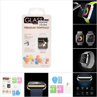 Kính cường lực bảo vệ màn hình cho đồng hồ thông minh apple Watch 38mm 42mm
