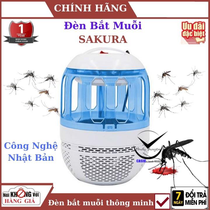 Đèn bắt muỗi sakura - Công nghệ nhật bản