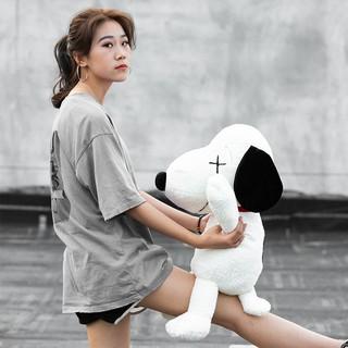 Mô Hình Búp Bê Snoopy Xinh Xắn Kích Thước 45cm 55 cm 75 cm