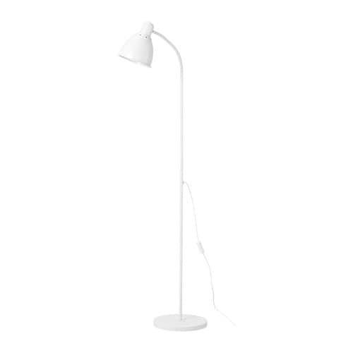 Đèn cây đứng đọc sách trang trí sofa Lersta IKEA - trắng
