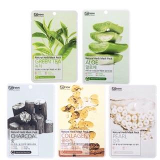 [Chính Hãng] Combo 10 Mặt Nạ Benew Natural Herb Mask Pack