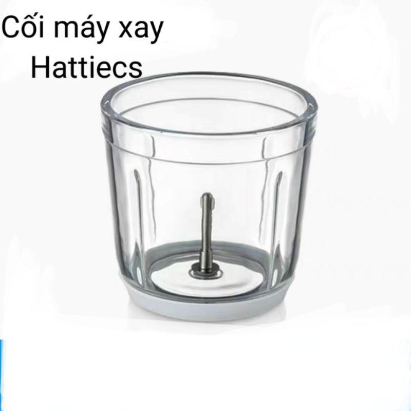 Cối thủy tinh, lưỡi dao cho máy xay Hattiecs ( thay thế)